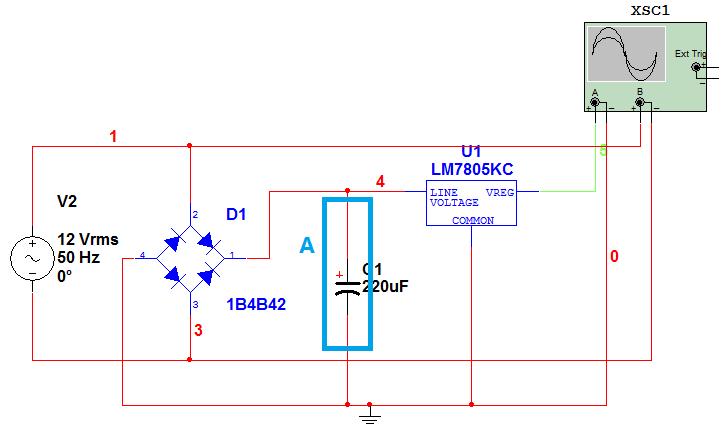 """电容在""""桥式整流""""电路中的重要作用"""